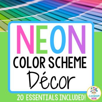 Color Scheme Decor Pack: The Neon Collection