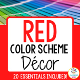 Color Scheme Decor Pack: The Red Collection