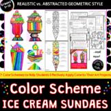 Color Scheme Ice Cream Sundaes- 3 Fun Project Variations