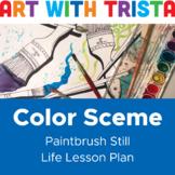 Color Scheme Paintbrush Still Life