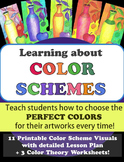 Distance Learning! Introducing Color Schemes! 11 Visuals &