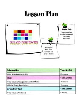 Color Schemes Lesson