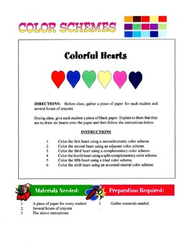 Color Schemes Lesson