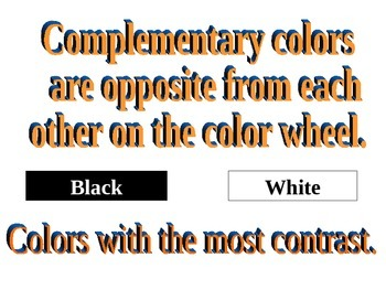 Color Schemes PowerPoint
