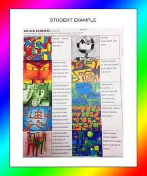 Color Schemes a la Paul Klee