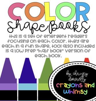 Color Shape Books