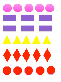 Color & Shape Game