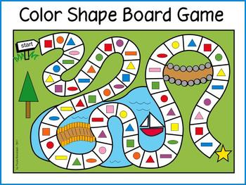 Color Shape Gameboard