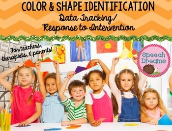 Speech Therapy Color and Shape {Identification Autism Data