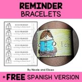 Bracelet Crafts - Reminder Notes