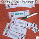 Color, Shape, Number, and ABC Work Box Tasks