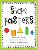 Color Shape Posters