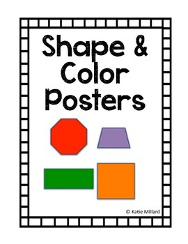 Color & Shape Posters