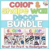 Color & Shape Wall Decor Bundle