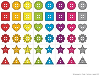 Color, Shape, and Number Sorting Activities (3 Activities in One)