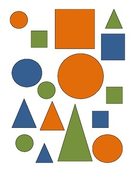 Color, Shape and Size Sort