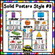 Color, Shape, and Solid Posters ~ Art Theme