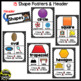 Color, Shape, and Solid Posters ~ Black and White Polka Dot