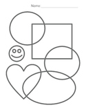 Color Sheet (shapes)