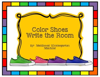 Color Shoes Write the Room