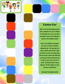 Color Sight Word Game