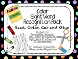 Color Sight Word Recognition Pack