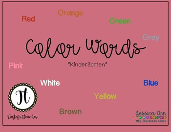 Color Sight Words