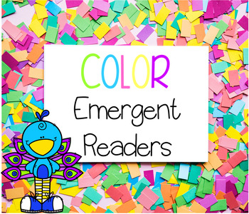 Color Sight Words Emergent Readers