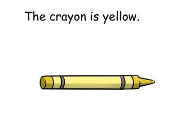 BUNDLE!!! Color Sight Words Interactive Readers; Kindergarten; Special Ed.
