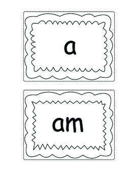 Color Sight Words (K-1) - Literacy Center