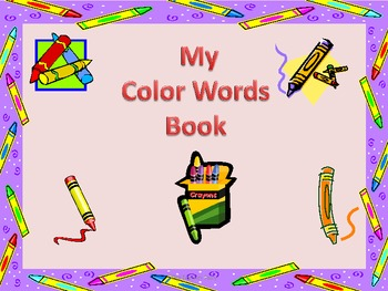Color Sight Words for Emergent Readers