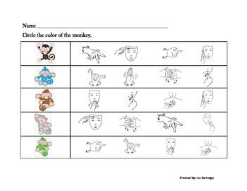 Color Sign Language Matching