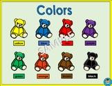 PreK/Kindergarten Classroom Color Chart