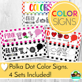 Color Signs Classroom Decor