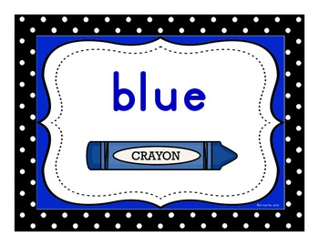 Color Signs with Lowercase Letters