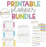 Color & Simple Lesson Plan Book Bundle!
