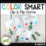 Color Smart Clip Card Game : Pre-K, Preschool, Kindergarten