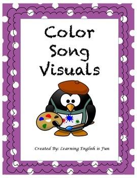 Color Song Visual- ESL