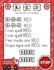 Color Song Posters: Learn the Colors/Color Words While Reviewing Letter Naming