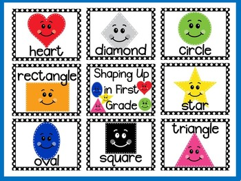 Color Songs and Shapes Bulletin Board Kits BUNDLE
