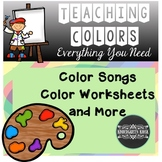 Color Songs Worksheets and More