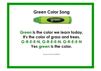 Color Songs for KinderKids