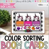 Color Sorting BOOM Cards | Digital Task Cards | Distance Learning
