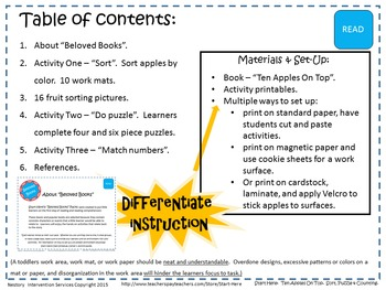 Building Number Sense 1-10 - Sort, Puzzle, Match, & Count
