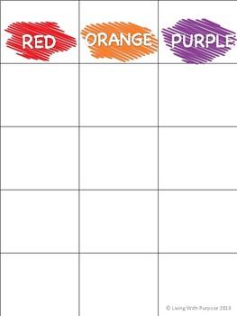 Color Sort Strips