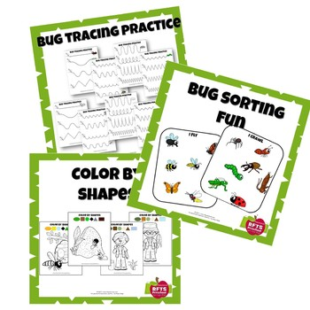 3-IN-ONE COLOR SORT TRACE BUG FUN