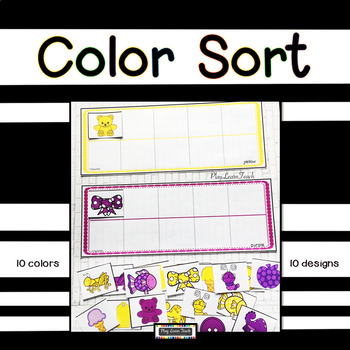 Color Sort for Autism, Early Childhood, Special Education