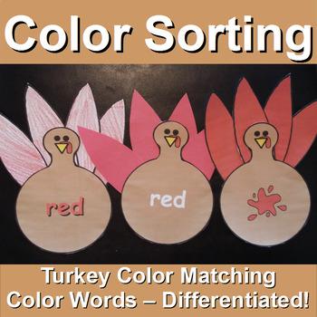 Color Sort with Turkeys