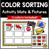 Color Sorting Activity Bundle