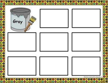 Sorting by Color: Brown and Gray